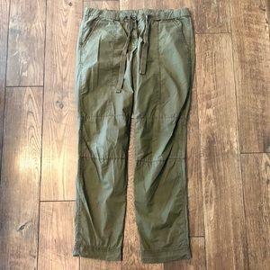 J. Crew City Fit casual olive green pants sz 8